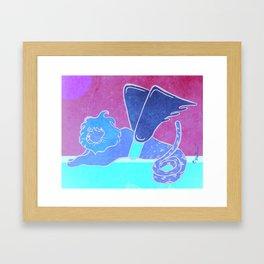 Quimera Framed Art Print