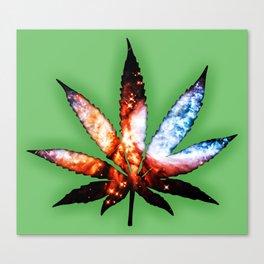 Marijuana Leaf Canvas Print