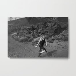 Run run Run run Run run Run away From your Responsibilities Metal Print