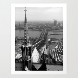 Cologne Art Print