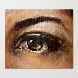 Eye Study #3 Canvas Print