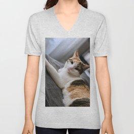 Cat by Curtis Thornton Unisex V-Neck