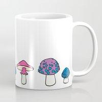 mushroom Mugs featuring Mushroom by Elyse Beisser