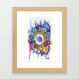 Remembering Wonderland Framed Art Print