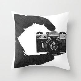 Photographer's Eye  Throw Pillow
