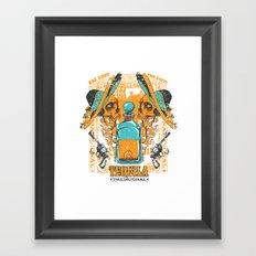 Tequila Duel Framed Art Print