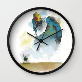 Adventure of the colossus Wall Clock