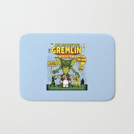 The Mischievous Gremlin Bath Mat