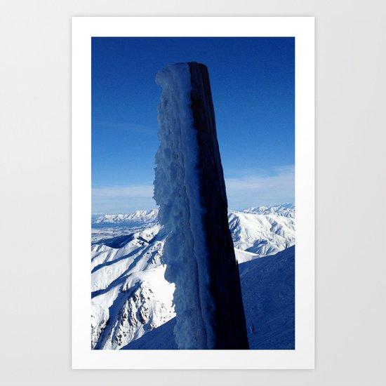 Wind effect Art Print