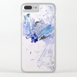 Abstract II Clear iPhone Case