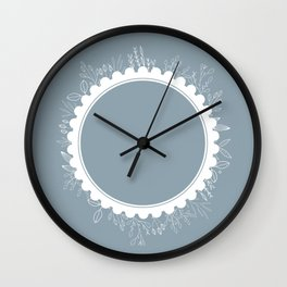 The Ring of Flowers Wall Clock