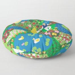 Midsummer Celebration Floor Pillow