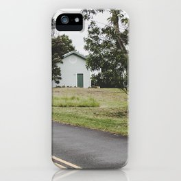 House on the Green - Hilo, Hawaii iPhone Case