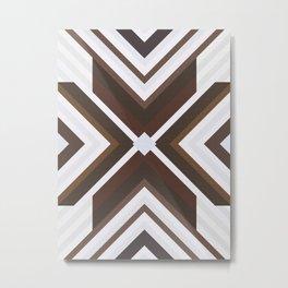 Geometric Art with Bands 08 Metal Print