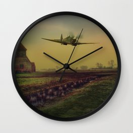 Low At Fairfield Wall Clock