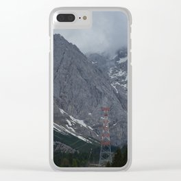 I Come from the Mountain Clear iPhone Case