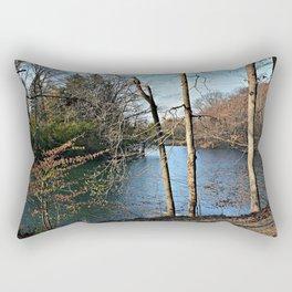 View of Paradise Rectangular Pillow