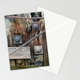 Old pier parts Stationery Cards