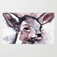 Fawn, Watercolor Rug