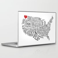 washington Laptop & iPad Skins featuring Washington by Taylor Steiner