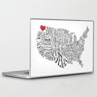 washington Laptop & iPad Skins featuring Washington by Taylor Steiner