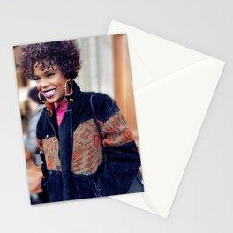 Parisian Mugshots - Serious Affro Swag (Gueules de Parisiens) Stationery Cards