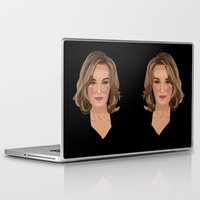 coven Laptop & iPad Skins featuring On Wednesdays, We Wear Black by Grace Teaney Art