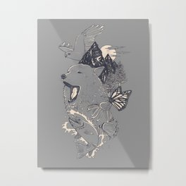 Northern Americana  Metal Print