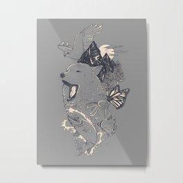 Northern Americana  Metal Print