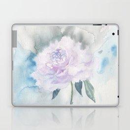 White Peony Laptop & iPad Skin