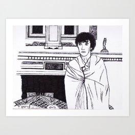 SheetLock Fineliner Sketch Art Print