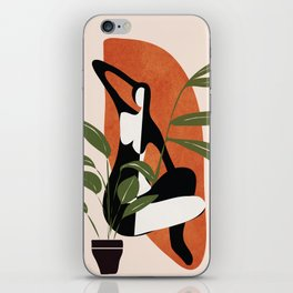 Abstract Female Figure 20 iPhone Skin