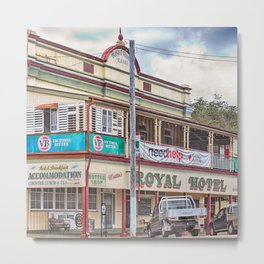 The old Country Pub Metal Print