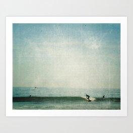 surf days Art Print