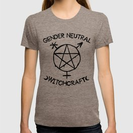 Gender Neutral Witchcraft (simple) T-shirt