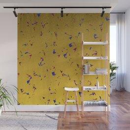 Confetti & Gold Festive Wall Mural
