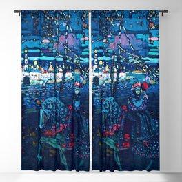 "Wassily Kandinsky ""Riding couple"" (1907) Blackout Curtain"