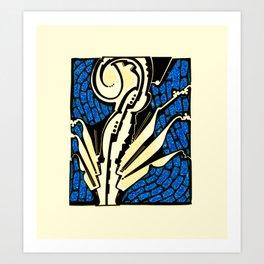 Alacrano Art Print