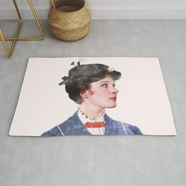 Mary Poppins - Watercolor Rug