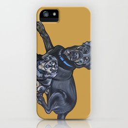 Lincoln and Zelda iPhone Case