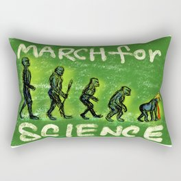 March For Science Rectangular Pillow
