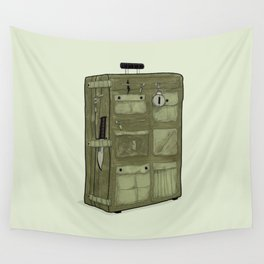 LOST Luggage / John Wall Tapestry