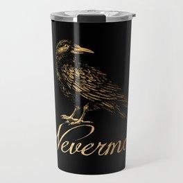 'Nevermore' Travel Mug