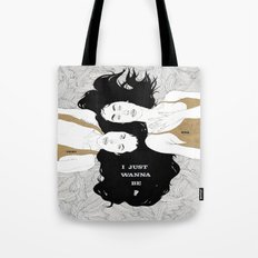 Missing Pieces (My Valentine) Tote Bag