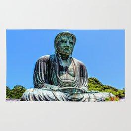 Great Buddha of Kamakura Rug