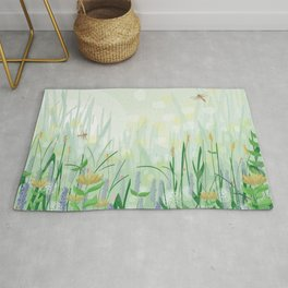 Country walk Rug