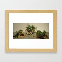 hope for a flower Framed Art Print