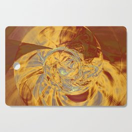 Ammonite Abstract Cutting Board
