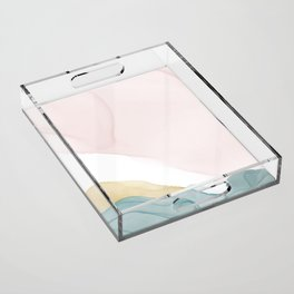 DREAM COLLECTION TEAL Acrylic Tray