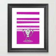 Binary Divine Framed Art Print